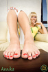 feet all its glory