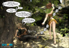 Untamed forest ready for a hard knocking spectacular sexpertize