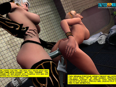 Gorgeos ladies cunt help getting it wild with their - Picture 7