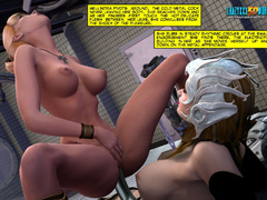 Gorgeos ladies cunt help getting it wild with their - Picture 11