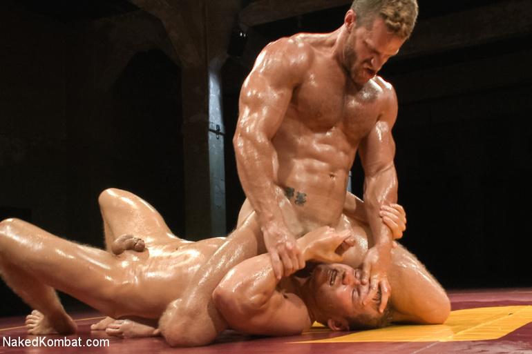 Luchadores de hombres peludos