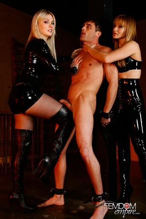Guy with hands tied at back gets punishe - XXX Dessert - Picture 5