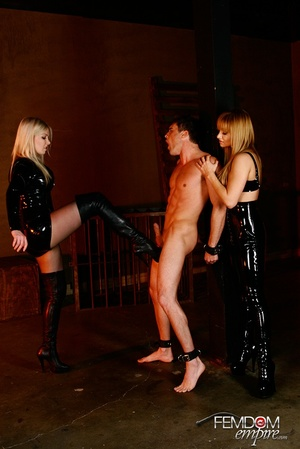 Guy with hands tied at back gets punishe - XXX Dessert - Picture 6