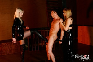 Guy with hands tied at back gets punishe - XXX Dessert - Picture 7