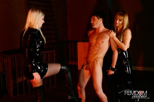 Guy with hands tied at back gets punishe - XXX Dessert - Picture 8