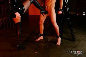 Guy with hands tied at back gets punishe - XXX Dessert - Picture 9