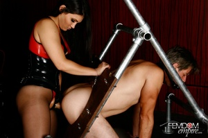 Hot bad girl punish guy with hands tied  - XXX Dessert - Picture 10