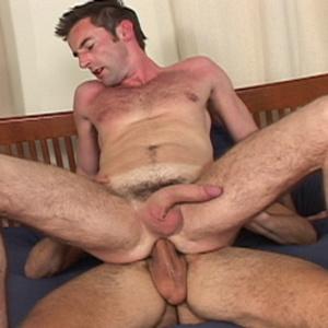 Muscular men ride hard dicks with their  - XXX Dessert - Picture 3