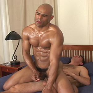 Muscular men ride hard dicks with their  - XXX Dessert - Picture 4