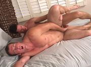 muscular men enjoy the