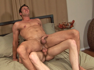 Big beefy guys jerk off to two hunky guy - XXX Dessert - Picture 1
