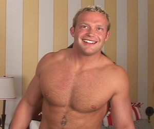 Big beefy guys jerk off to two hunky guy - XXX Dessert - Picture 5
