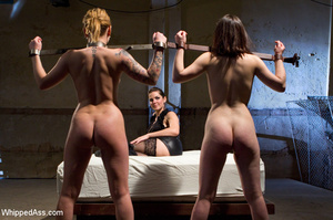 Double pussy licking, spanking, big dild - XXX Dessert - Picture 13