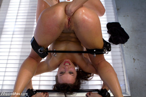 Sweet girl gets asshole and pussy widene - XXX Dessert - Picture 8
