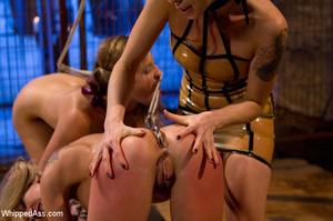 Sexy girls get groove tying each other,  - XXX Dessert - Picture 14