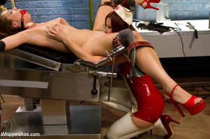 Naughty nurse ties up patient and whips, - Picture 12