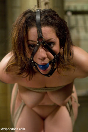Sexy girl gets spanked, tied, punished,  - XXX Dessert - Picture 7