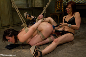 Sexy girl gets spanked, tied, punished,  - XXX Dessert - Picture 8
