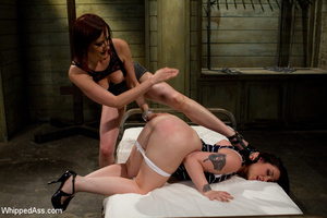 Sexy girl gets spanked, tied, punished,  - XXX Dessert - Picture 11
