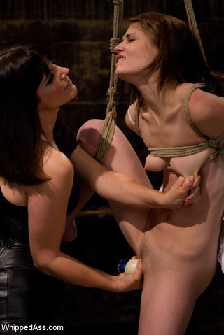painful acrobatic tying sweet