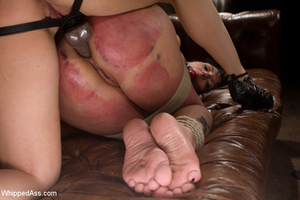 Real hardcore red weal butt ass spanking - XXX Dessert - Picture 12