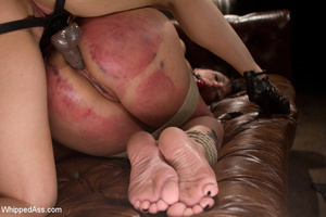 Real hardcore red weal butt ass spanking - XXX Dessert - Picture 13