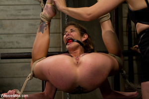 Sexy girls get painfully tied and bent o - Picture 4
