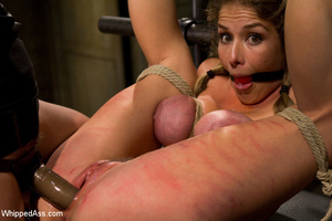 Sexy girls get painfully tied and bent o - Picture 5