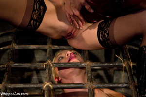 Hard beating and caging sexual games wit - XXX Dessert - Picture 15