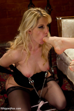 Hot lesbian master and slave games as bi - XXX Dessert - Picture 14