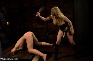 Tying up action with pegging, pussy and  - XXX Dessert - Picture 10