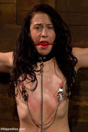 Tying up action with pegging, pussy and  - XXX Dessert - Picture 11