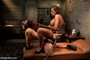 Painful rope restraints along with tits  - XXX Dessert - Picture 8