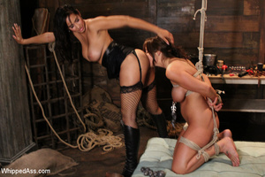 Brutal domination play as girl gets whip - XXX Dessert - Picture 5