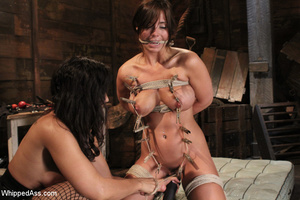 Brutal domination play as girl gets whip - XXX Dessert - Picture 12