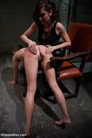 hardcore spanking pegging along