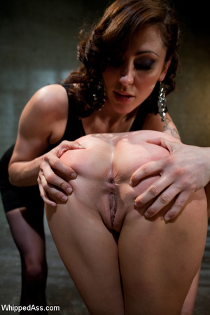 Hardcore spanking, pegging along with ha - XXX Dessert - Picture 4