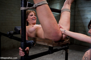 Hardcore spanking, pegging along with ha - XXX Dessert - Picture 11