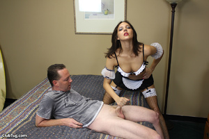 Expert hand job action as sweet babe use - XXX Dessert - Picture 5