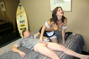 Expert hand job action as sweet babe use - XXX Dessert - Picture 8