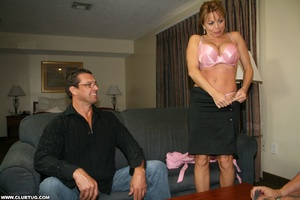 Naughty mature lady abandons poker game  - XXX Dessert - Picture 3