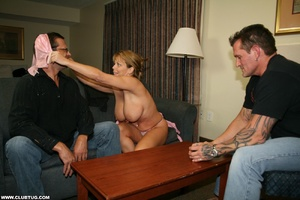 Naughty mature lady abandons poker game  - XXX Dessert - Picture 4