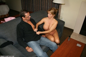 Naughty mature lady abandons poker game  - XXX Dessert - Picture 7