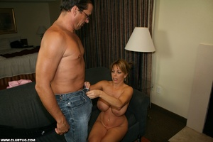 Naughty mature lady abandons poker game  - XXX Dessert - Picture 8