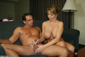 Naughty mature lady abandons poker game  - XXX Dessert - Picture 9