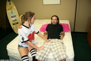 Guy gets a wild experience as cute chick - XXX Dessert - Picture 3