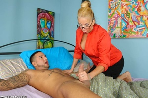 Very naughty mama sneaks upon hard dick  - XXX Dessert - Picture 4