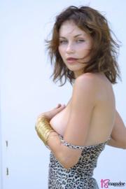 sexy goddess her leopard