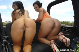 anal, ass, threesome, two girls