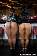 anal, ass, small tits, waitress